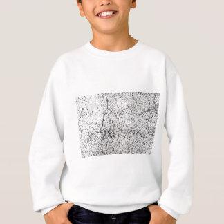 Street asphalt cracks texture sweatshirt