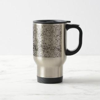 Street asphalt cracks texture travel mug