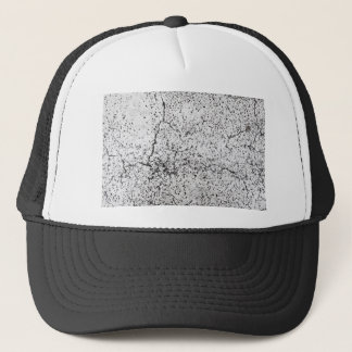 Street asphalt cracks texture trucker hat