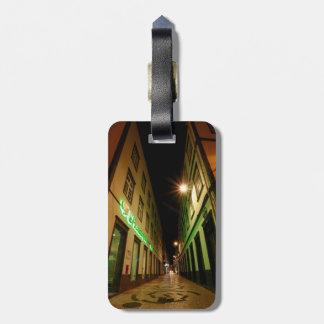 Street at night bag tag