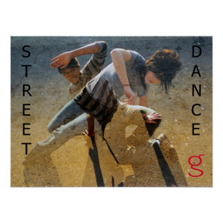 Street Dance Poster from I'm G Clothing