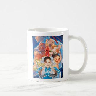 Street Fighter 2 Chun-Li Group Coffee Mug