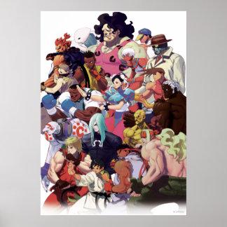 Street Fighter 3 Third Strike Cast Poster