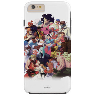 Street Fighter 3 Third Strike Cast Tough iPhone 6 Plus Case
