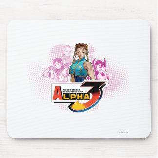 Street Fighter Alpha 3 Femme Fatale Mouse Pad