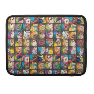 Street Fighter Alpha 3 Pattern Sleeve For MacBook Pro