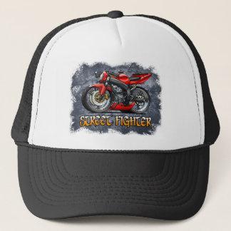 Street_Fighter_Red Trucker Hat