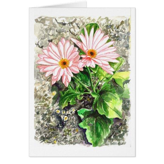Street Flowers Card