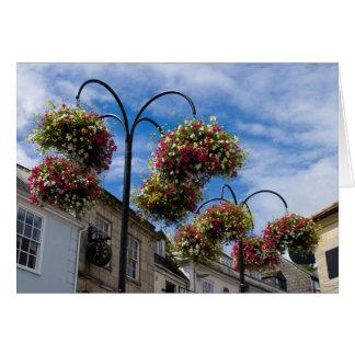 Street Flowers, Truro Card