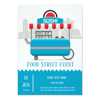 Street food sushi card