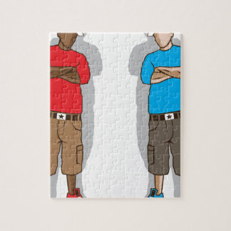 Street gangsters jigsaw puzzle