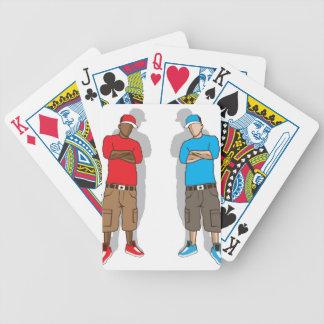 Street gangsters poker deck