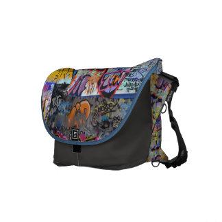 Street Graffiti Messenger Bag