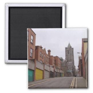 Street in Dublin Magnet