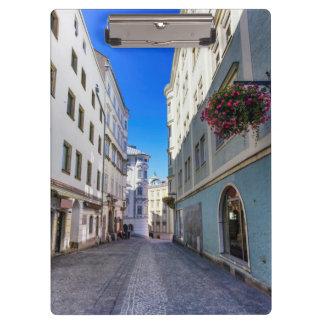 Street in old city, Linz, Austria Clipboard