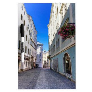 Street in old city, Linz, Austria Dry Erase Board