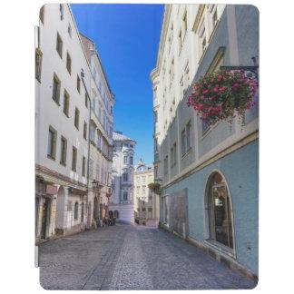 Street in old city, Linz, Austria iPad Cover