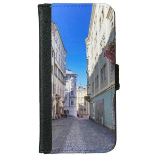 Street in old city, Linz, Austria iPhone 6 Wallet Case