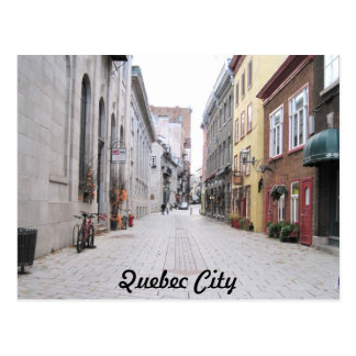 Street in Old Quebec City Postcard