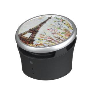 Street In Paris - Illustration 2 Bluetooth Speaker