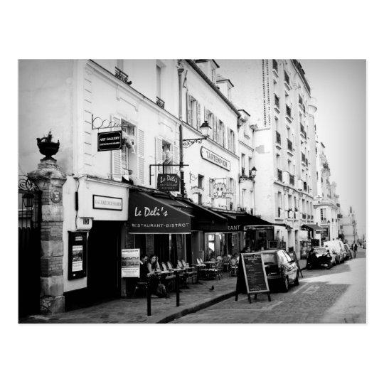 Street in Paris Postcard