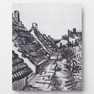 Street in Saintes-Maries by Vincent van Gogh Plaque