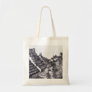 Street in Saintes-Maries by Vincent van Gogh Tote Bag