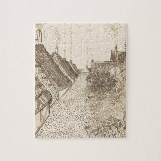 Street in Saintes-Maries-de-la-Mer Jigsaw Puzzle