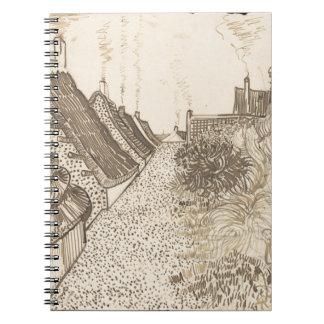 Street in Saintes-Maries-de-la-Mer Notebook
