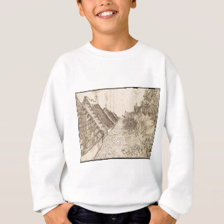 Street in Saintes-Maries-de-la-Mer Sweatshirt