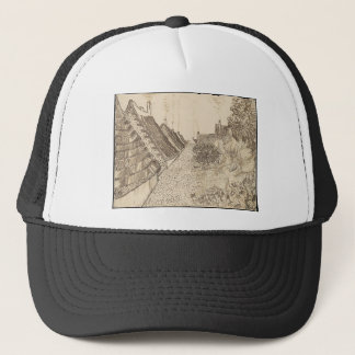 Street in Saintes-Maries-de-la-Mer Trucker Hat