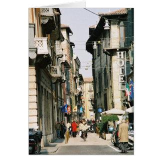 Street in Verona Card