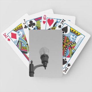 Street Lamp Bicycle Playing Cards
