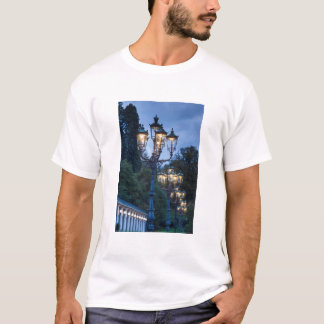 Street lamps at night, Germany T-Shirt