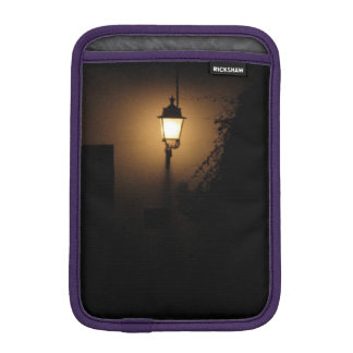 Street Lantern Night Lamp Photo iPad Mini Vertical iPad Mini Sleeve