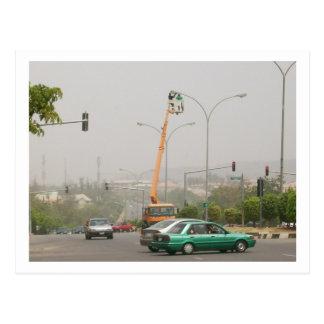 Street Light, Abuja Postcard
