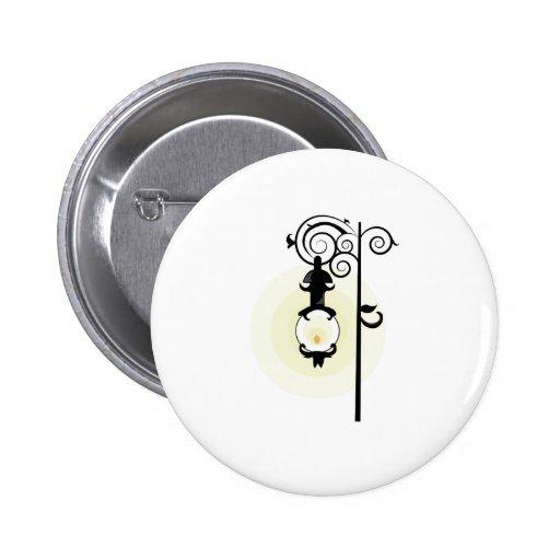 Street Light Pinback Button
