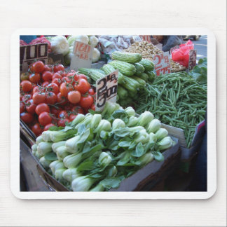 Street Market Fresh Vegetables CricketDiane Mouse Pad