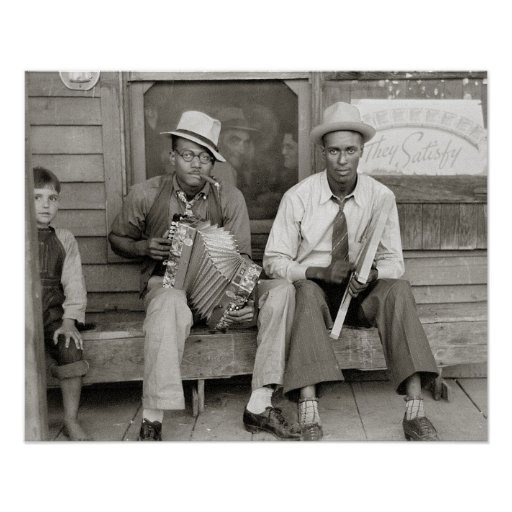 Street Musicians, 1938 Posters