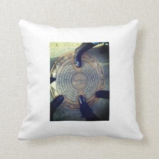 Street Plaque Printed Pillow