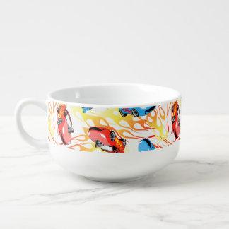 Street racing soup mug
