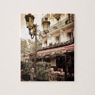 Street restaurant, Paris, France Puzzles