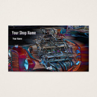 Street Rod Horsepower Business Card