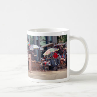 Street Scene, Banjul, The Gambia, Africa Coffee Mug