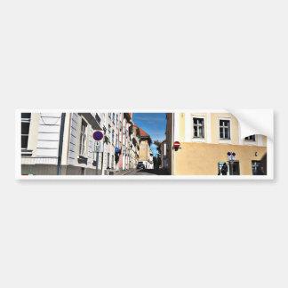 Street Scene Estonia Bumper Stickers