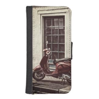 Street scene iPhone SE/5/5s wallet case