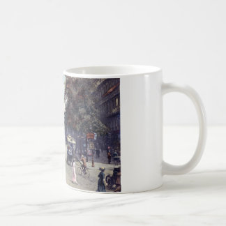 Street Scene, Paris, France c1915 Vintage Coffee Mug