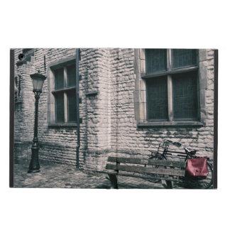 street scene with a bike iPad air cover