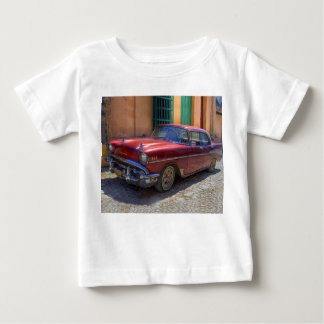 Street scene with old car in Havana Baby T-Shirt