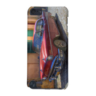 Street scene with old car in Havana iPod Touch 5G Covers